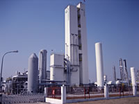 Large scale air separation unit in Nanjing Chemical Industrial Park (NCIP), Eastern China